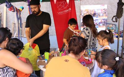 Participamos en la Feria de oficios, artesanía y diseño de Matta Sur