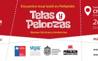 """Encuentro local textil en Peñalolén """"Telas y Peloozas"""""""